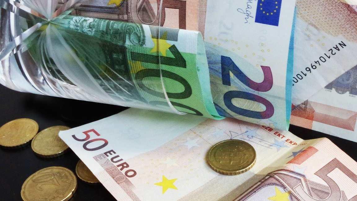Barattolo di euro