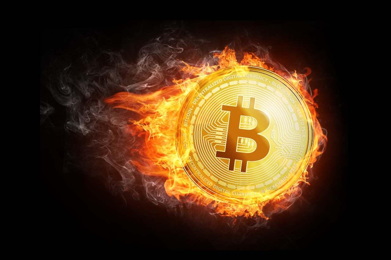 fiamme bitcoin