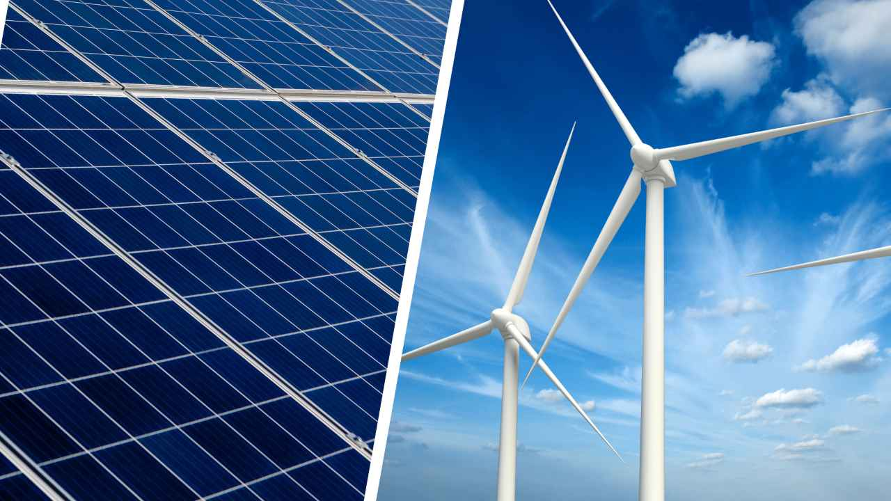 energia solare e eolica