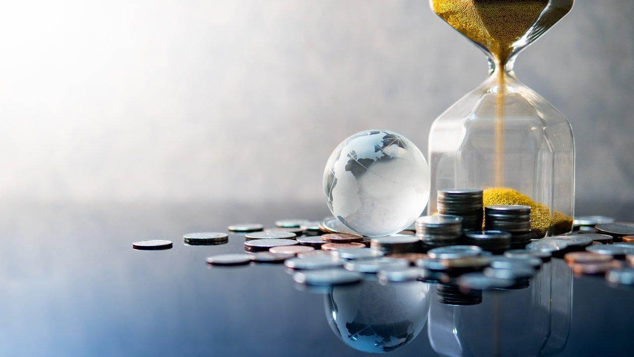 Clessidra Planisfero monete