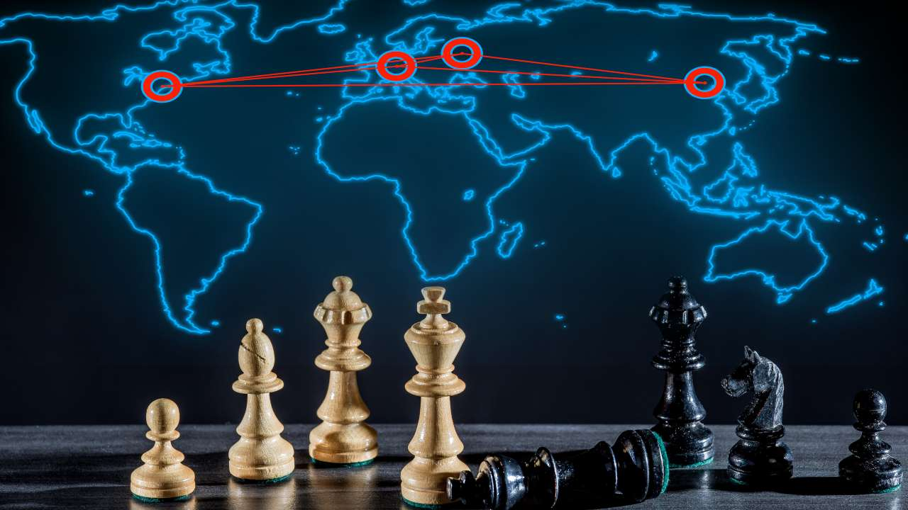 scacchiere internazionale
