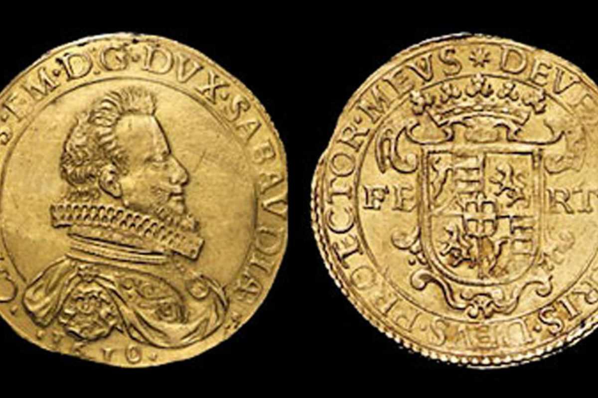 10 Scudi della reggenza di Carlo Emanuele II