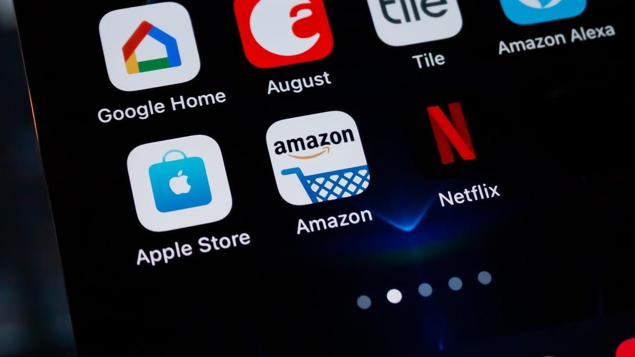 Logo Amazon su Smartphone