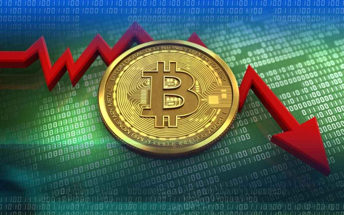 Crollo del Bitcoin (Google Immagini)