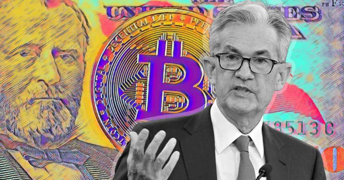 Jerome Powell - Bitcoin (Google immagini)
