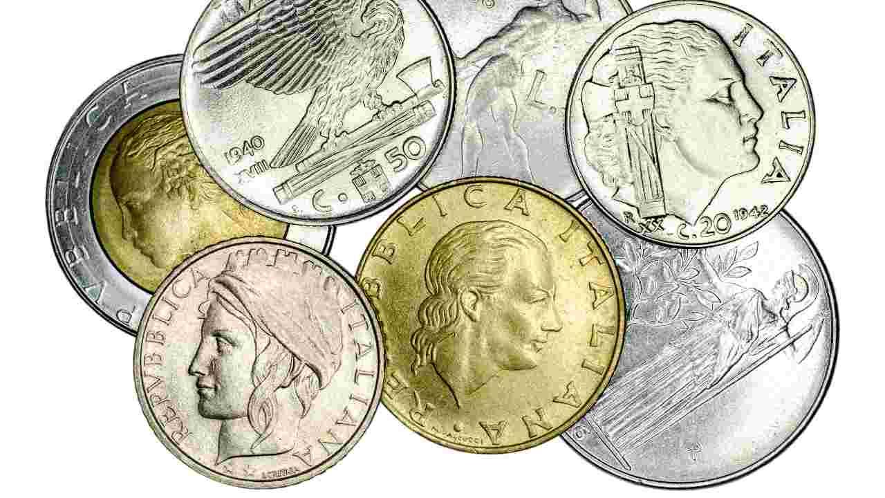 Lire monete