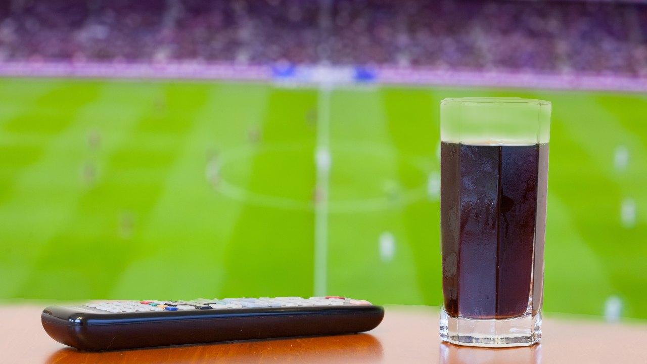 Partita di calcio coca cola