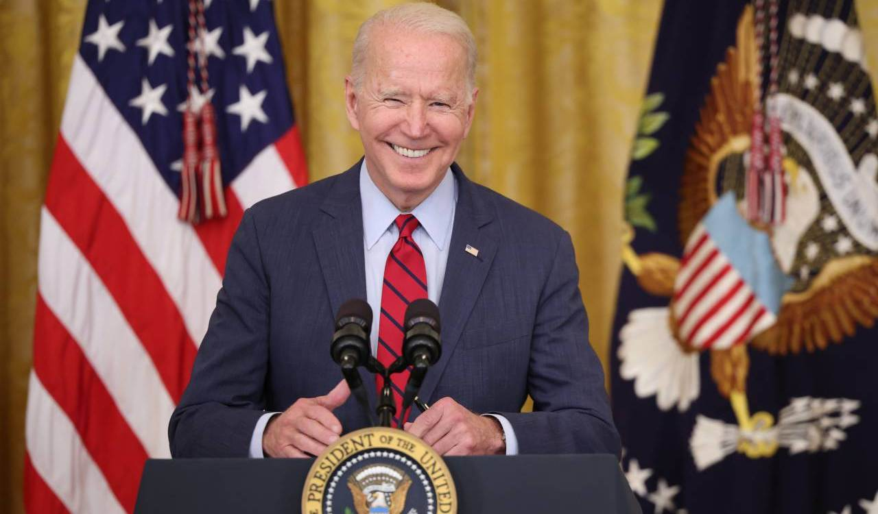 Joe Biden primo piano