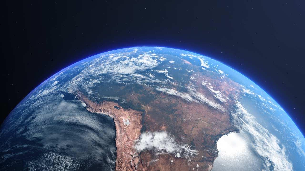 Terra vista dallo spazio