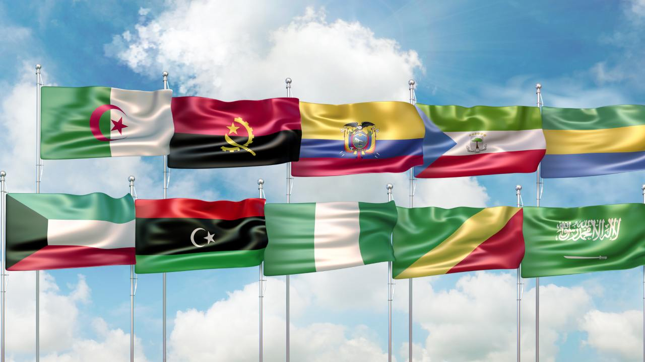 bandiere paesi opec
