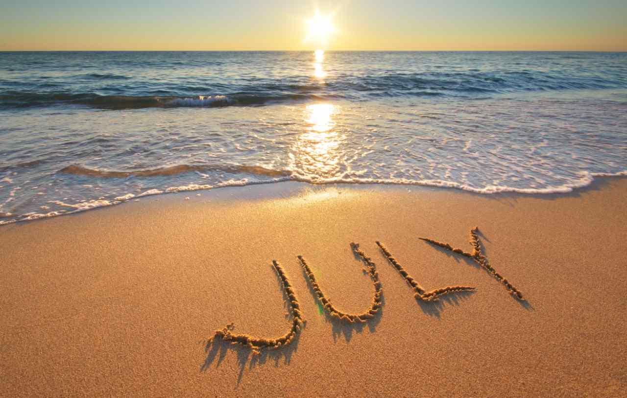 luglio spiaggia