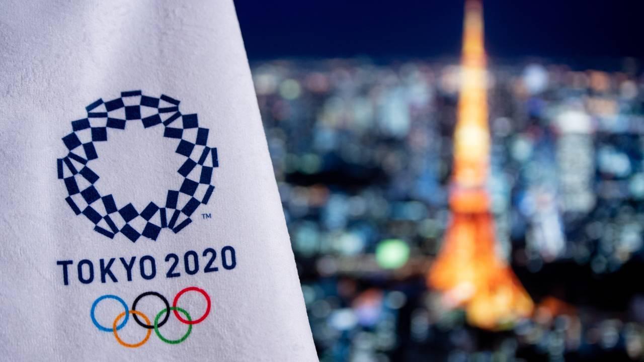 logo olipiadi città Tokyo