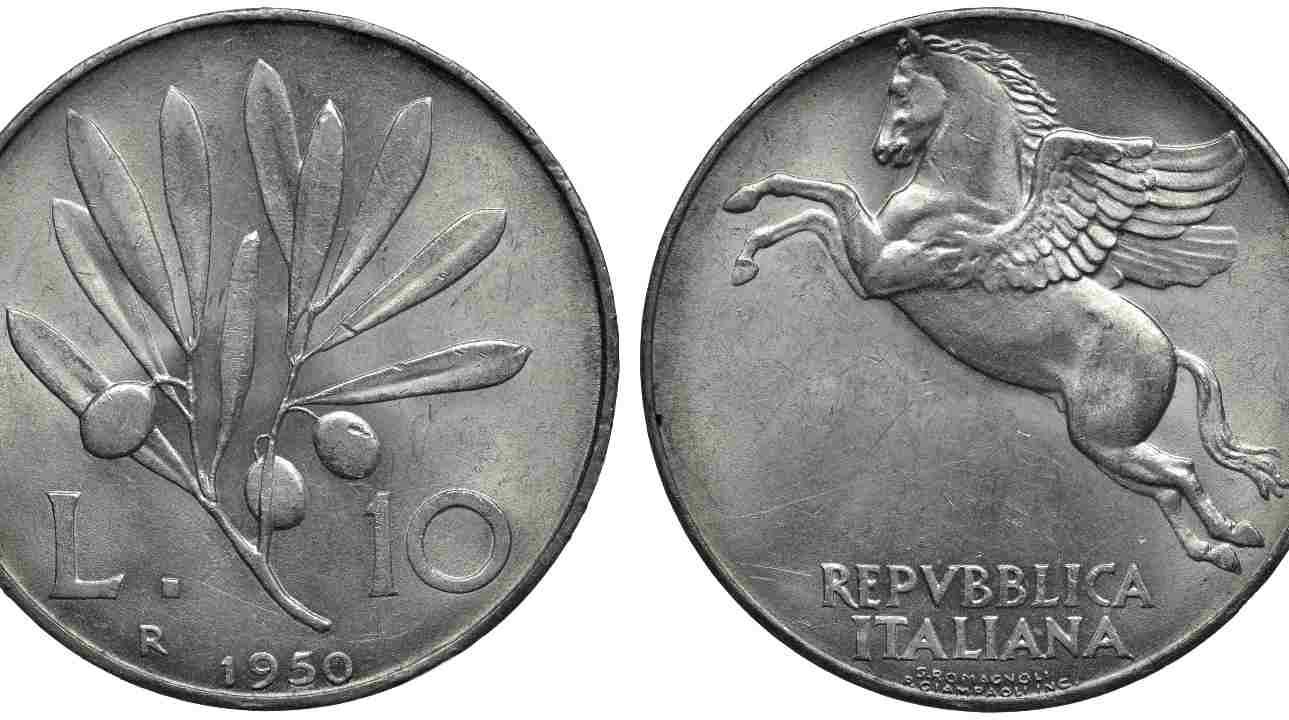 10 lire Pegaso