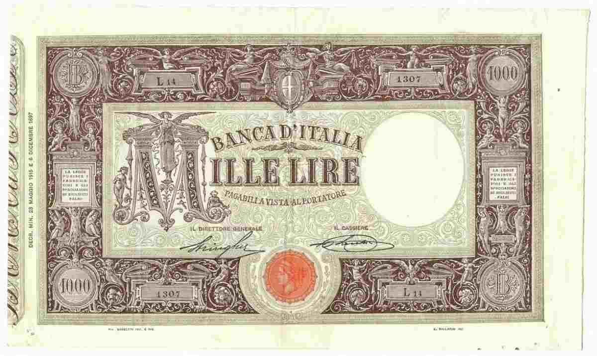 1000 lire 1915