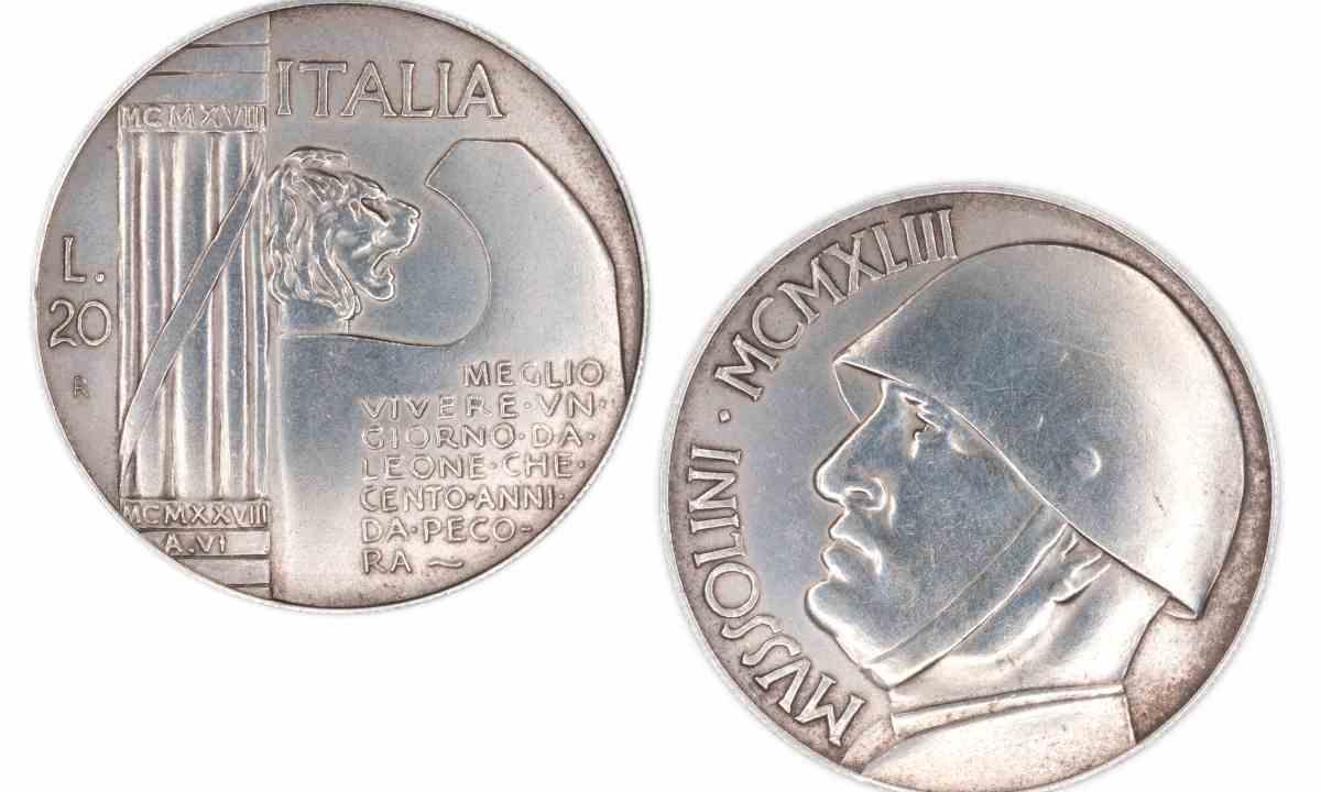 Moneta Mussolini